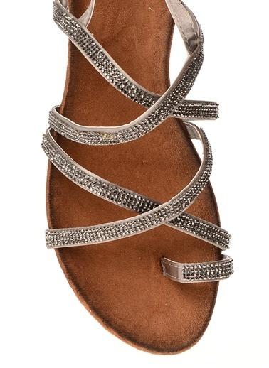 DSN Sandalet Gri